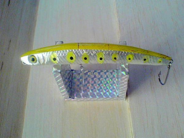 Sarı sırt çatlatma Hologram Popper  dsc01647vj