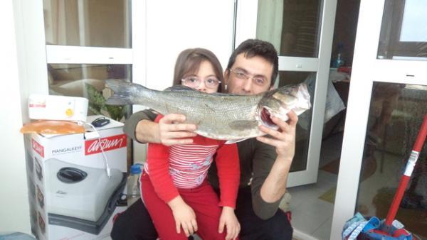 Levrek 65 cm. 2090 gr