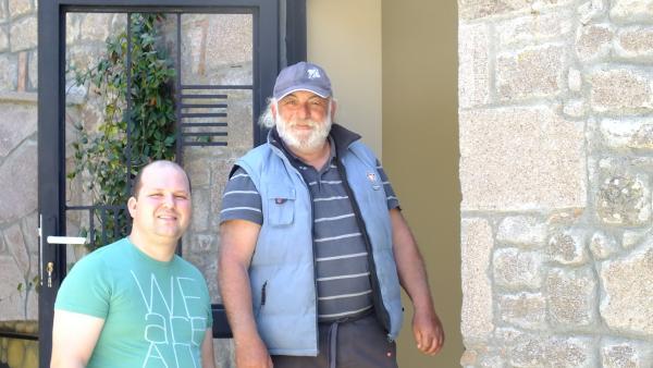 Vedat Abayoğlu 'nun kardeşine ait harika motelden bir kare.