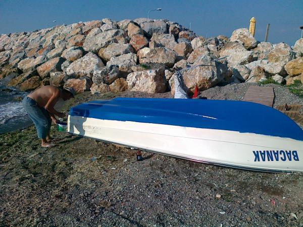 170 ılk teknem 4.55 polyester