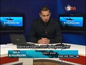 Balık Sevdam KKTC Sim TV Program Konuğu Hamdi Tekbıyık