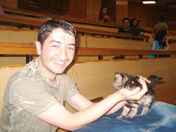 ben ve Üniversitedeki kedi