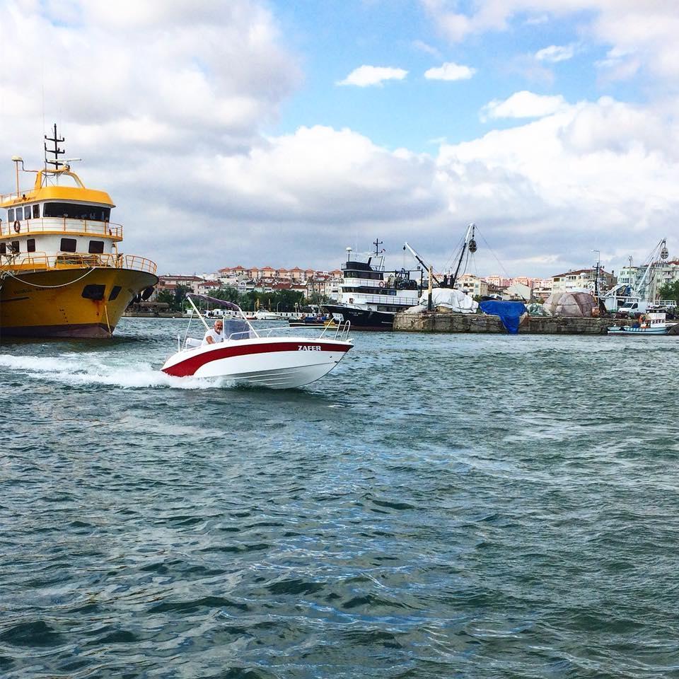 Yeni teknem 50 hp ile